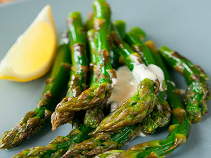 Asparagus with Gremolata Sauce