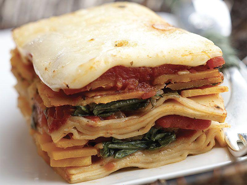 Squish Squash Lasagna